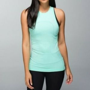 Lululemon Swiftly Crew High Neck Tank Top Size 6